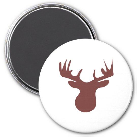 caribou runder magnet 7,6 cm