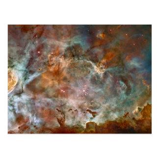 Carina-Nebelfleck-Dunkelheits-Wolken Postkarte