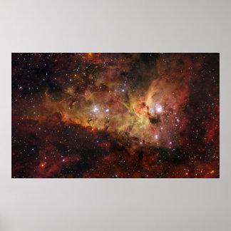 Carina-Nebelfleck Eta Carinae Poster