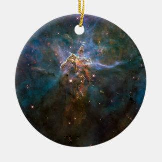 Carina-Nebelfleck Rundes Keramik Ornament