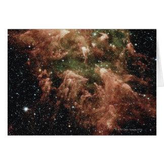 Carina-Nebelfleck-Stern Karte