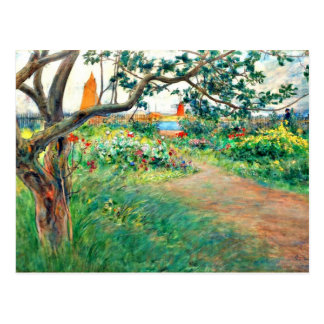 Carl Larsson-Kunst: Landschaft bei Marstrand Postkarte