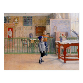 Carl Larssons Sunborn Studio Postkarte