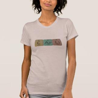 Carli als Kohlenstoff-Argon-Lithium T-Shirt