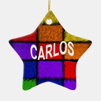 CARLOS KERAMIK ORNAMENT