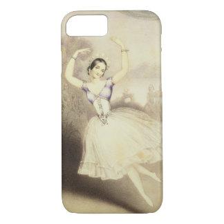 Carlotta Grisi (1819-99) im Ballett des Peri iPhone 8/7 Hülle