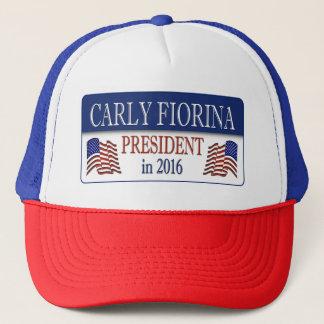Carly Fiorina-Präsident im Jahre 2016 Truckerkappe