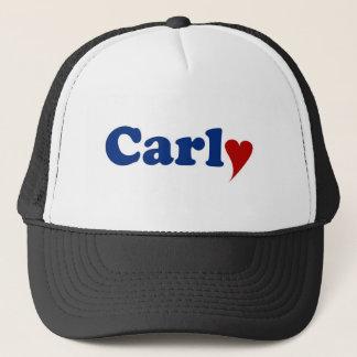 Carly mit Herzen Truckerkappe