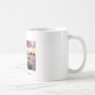 Carmel Kalifornien Strand-Szene Kaffeetasse