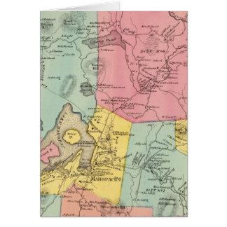 Carmel, Stadt Karte