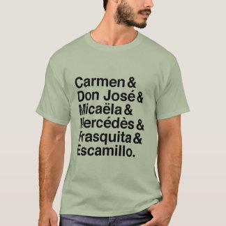 Carmen-Charakter-T - Shirt