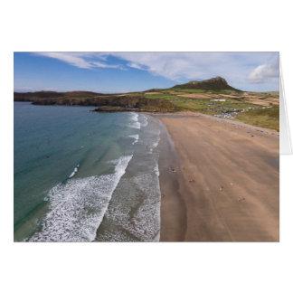 Carn Llidi und Whitesands Bucht Wales