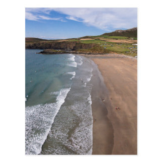 Carn Llidi and Whitesands Bay Wales
