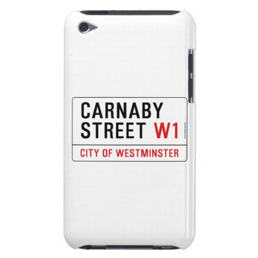 Carnaby Straße Case-Mate iPod Touch Case