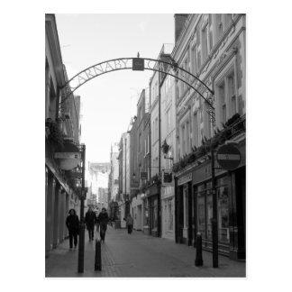 Carnaby Straße, London Postkarte