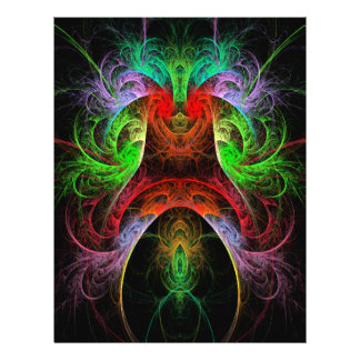 Carnaval abstrakter Kunst-Flyer