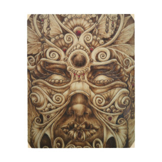 Carnivale Masken-Wand-Kunst Holzdruck