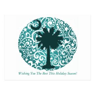 Carolina-Designer-Weihnachtspostkarten Postkarte