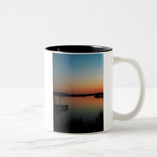 Carolina-Sonnenuntergang Teehaferl