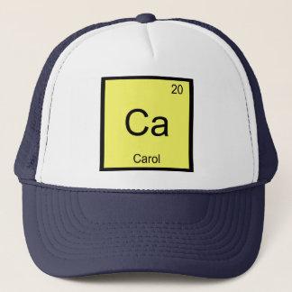 Carolnamenschemie-Element-Periodensystem Truckerkappe