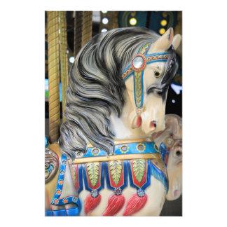 Carousals-Pferd 1 Fotodruck