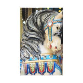 Carousals-Pferd 1 Leinwanddruck