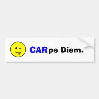 Carpe Diem Autoaufkleber
