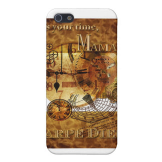 Carpe Diem der Tag Mutter iPhone 5 Cover