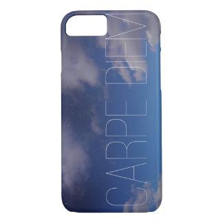 Carpe Diem Handy-Fall-Galaxie-Himmel Ombre Wolken iPhone 8/7 Hülle