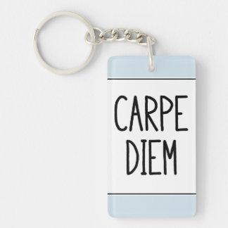 carpe diem keychain - inspirational motivierend schlüsselanhänger