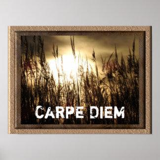 Carpe Diem - Kunstplakatdruck Poster