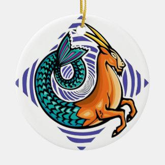 Carpicorn memaid keramik ornament