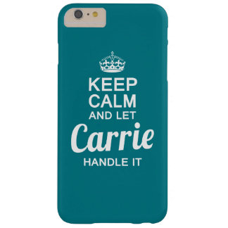 Carrie Griff es! Barely There iPhone 6 Plus Hülle
