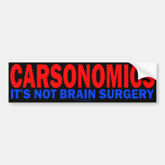 Carsonomics Autoaufkleber