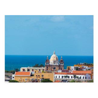 Cartagena, Kolumbien Old Town, Postkarte