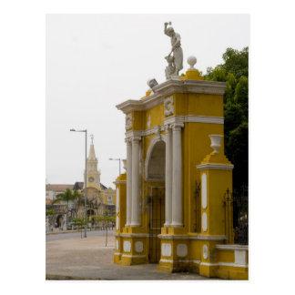 Cartagena, Kolumbien Postkarte