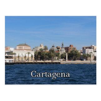 Cartagenaandenken und -geschenk postkarte