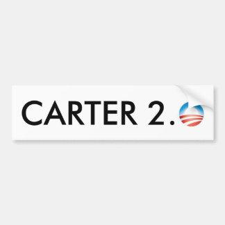 Carter 2,0 autoaufkleber