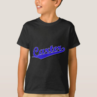 Carter im Blau T-Shirt