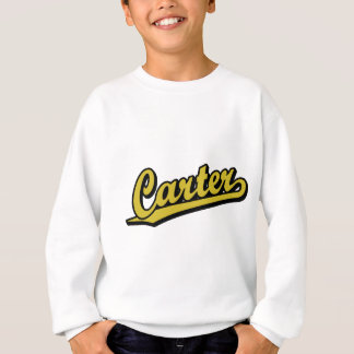 Carter im Gold Sweatshirt
