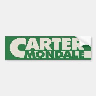 CarterAutoaufkleber 1976 Autoaufkleber