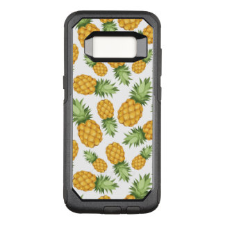 Cartoon-Ananas-Muster OtterBox Commuter Samsung Galaxy S8 Hülle