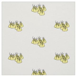 Cartoon-Außerirdischekindergewebeentwurf auf Stoff