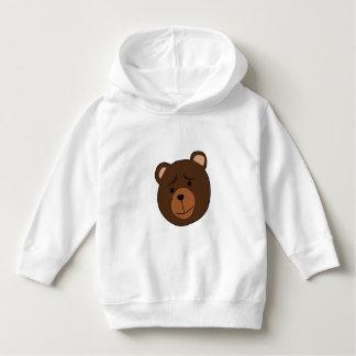Cartoon-Bär - Kleinkindhoodie-Strickjacke Hoodie