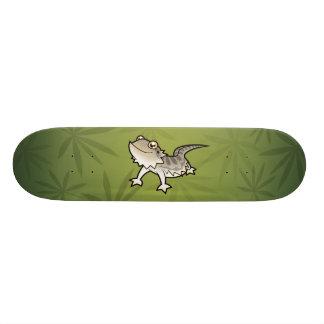 Cartoon-bärtiger Drache/Rankin Drache 19,1 Cm Old School Skateboard Deck