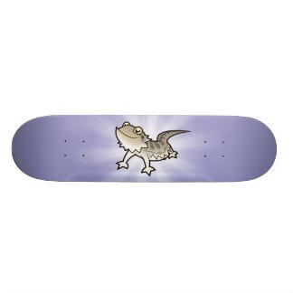 Cartoon-bärtiger Drache/Rankin Drache Skateboarddecks