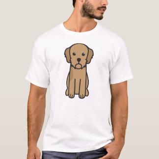 Cartoon Basset Fauve de Bretagne Dog T-Shirt