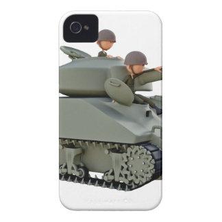 Cartoon-Behälter und Soldaten an der Leichtigkeit iPhone 4 Hüllen