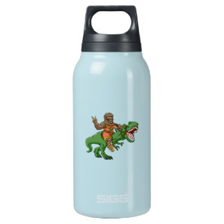 Cartoon BigfootCartoon t rex-T rex Bigfoot Isolierte Flasche