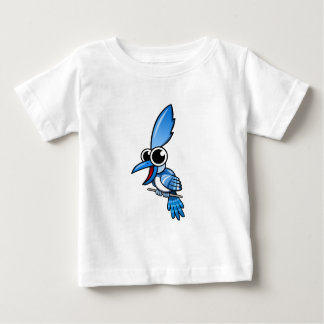Cartoon-Blau-Jay Baby T-shirt